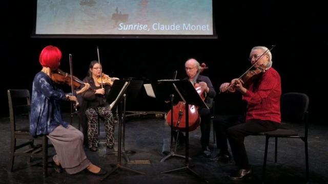 American Chamber Ensemble - Debussy Quartet, Andantino, doucement expressif