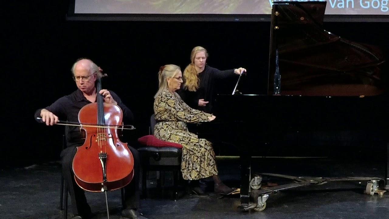 American Chamber Ensemble - Debussy Cello Sonata in G Major