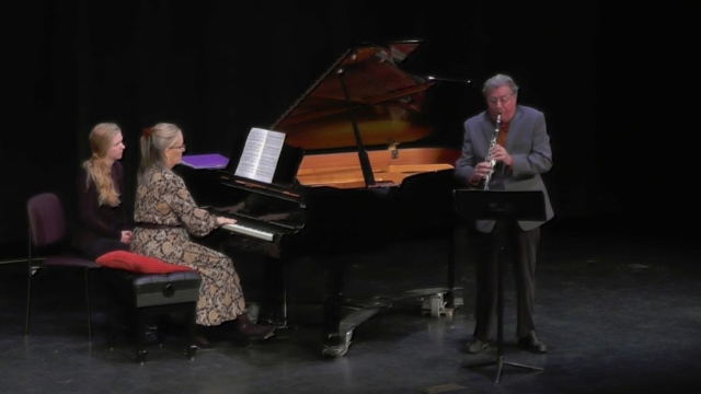 American Chamber Ensemble - Debussy Premiere Rhapsodie for clarinet and piano