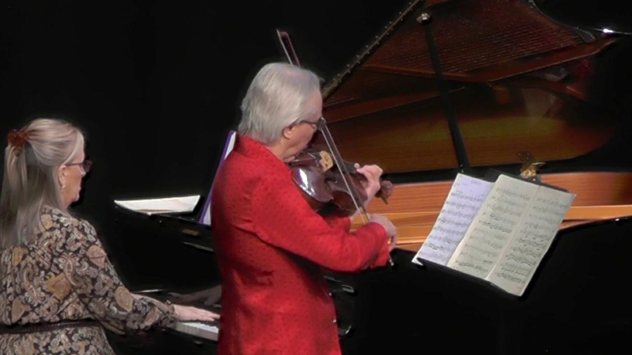 American Chamber Ensemble - Henri Vieuxtemp Elegie for Viola and Piano
